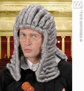 Judge pruik