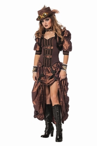 Steampunk vrouw luxe